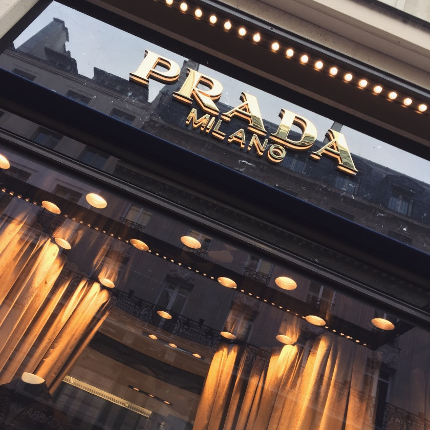 Sofitel saint honoré Prada
