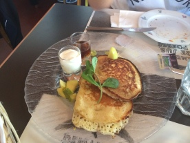 Pancakes au Café de Grancy
