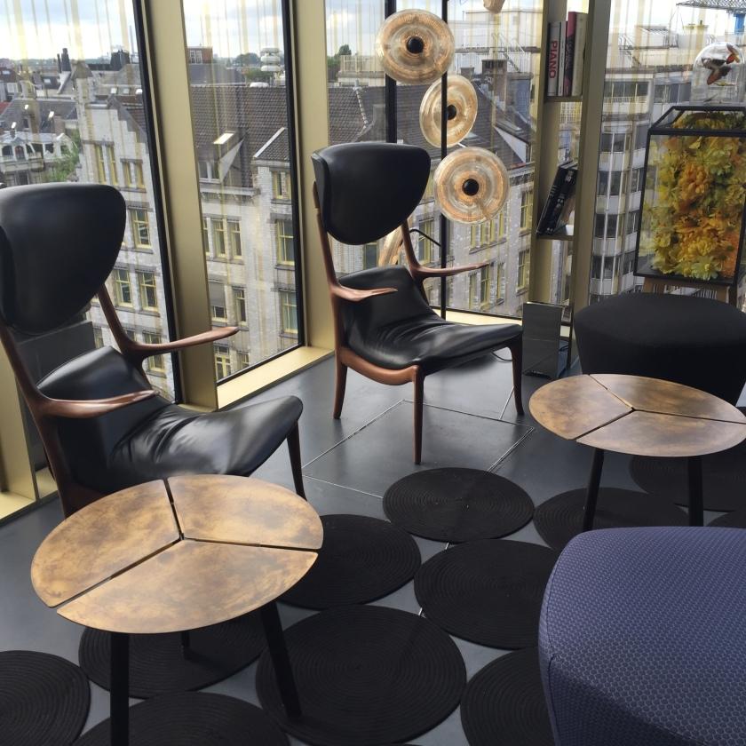 W amsterdam Lounge Bar rooftop