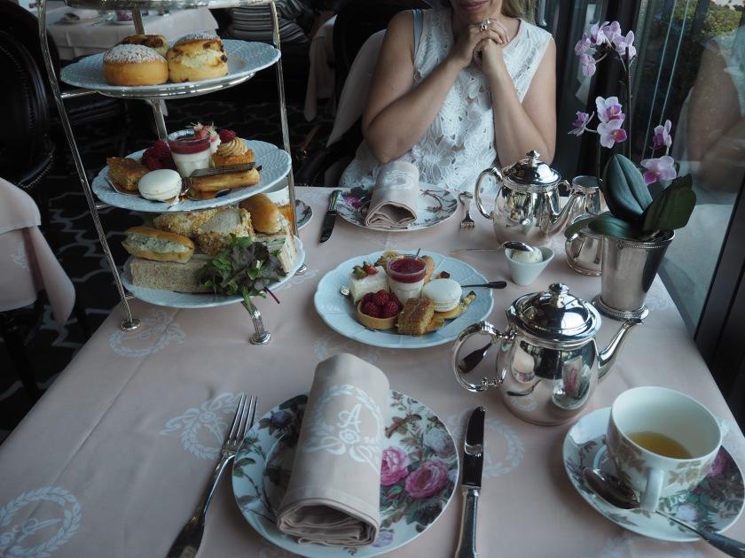 afternoon tea hotel angleterre geneva