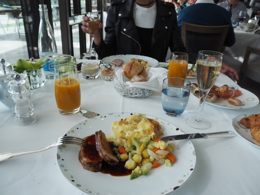 Beau Rivage Lausanne Brunch