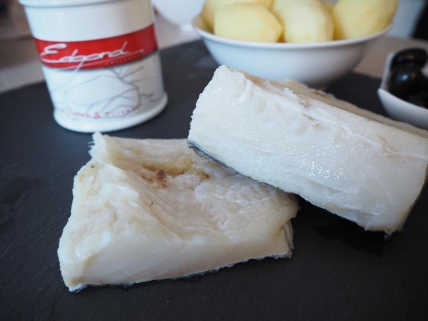 Bacalhau Cozido Angola