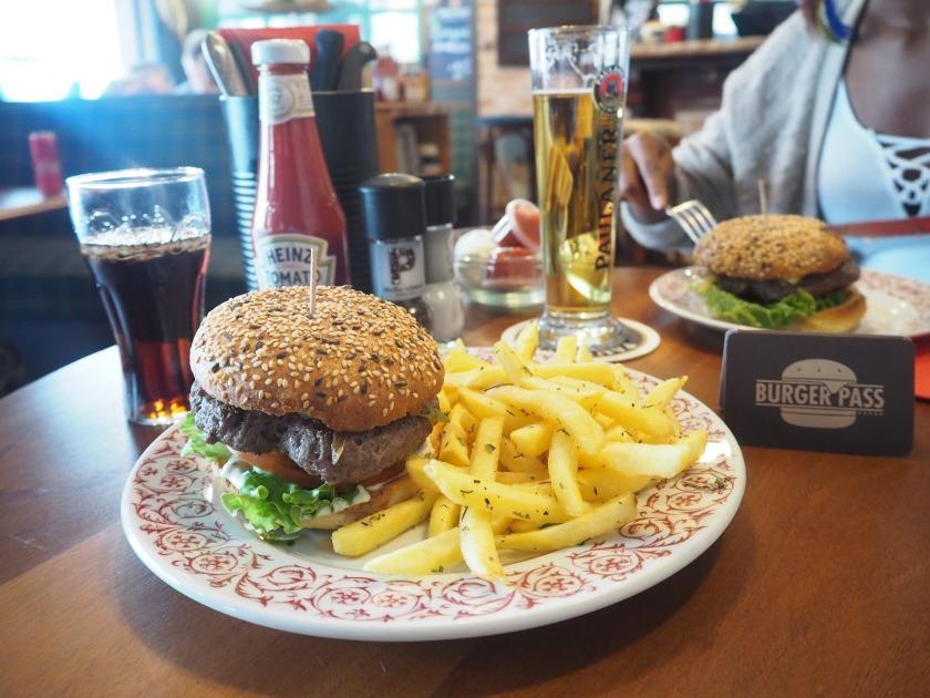 Non Stop burger Vevey