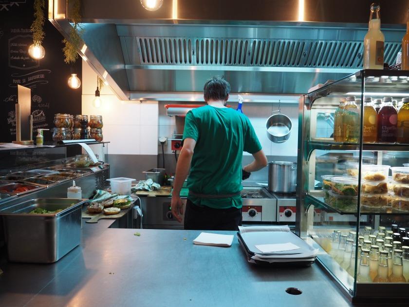 Lausanne Green Van Company Burger
