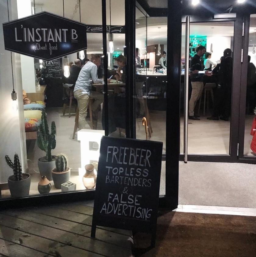 Lausanne L'Instant B Street Food